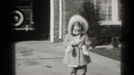 1947: kids are sharing money MIDDLETOWN Stock Footage