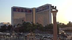 The Mirage hotel Las Vegas Stock Footage