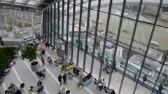 LONDON – The Sky Garden at 20 Fenchurch Street is a unique Stock Footage