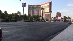 Treasure Island Hotel Las Vegas Stock Footage