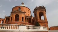 Sanctuary of the Madonna di San Luca Bologna Italy Stock Footage
