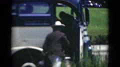 1947: outdoor scene MIDDLETOWN Stock Footage