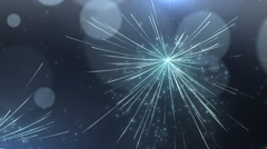 Particles dust abstract light bokeh motion titles cinematic background 25 Stock Footage