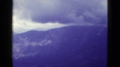 1953: mountain area is seen traveling by road CALIFORNIA Stock Footage