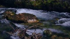 Mountain River. Abkhazia Stock Footage