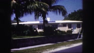 1960: residential area is seen FLORIDA Stock Footage