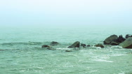 Fog and sea. Stock Footage