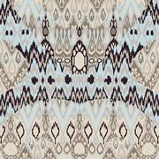 Ethnic tribal carpet, plaid pattern fabric wrapping, floor tile print Stock Illustration