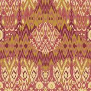 Ethnic tribal carpet, plaid pattern fabric wrapping, floor tile print Stock Illustration