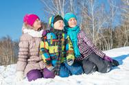 Winter activity Stock Photos
