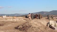 Afghanistan's resistance movement Stock Footage