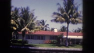 1960: beautiful ocean front homes  Stock Footage