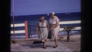 1960: women are seen in beautiful dresses FLORIDA Stock Footage