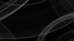 Gray abstract silky wave background over black, HD1080p Stock Footage