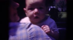 1947: mother with small child is seen MIDDLETOWN Stock Footage