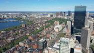 Downtown Boston. Stock Footage