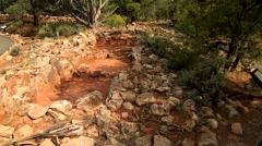Tuasayan Ruins at the Grand Canyon Stock Footage
