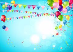Bright festive background Stock Illustration