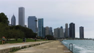 4K UltraHD Timelapse Chicago Skyline by harbor Stock Footage