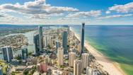 4k timelapse video of Gold Coast, Australia Stock Footage