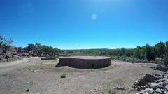 Aztec Ruins National Monument Stock Footage