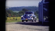 1947: car is seen MIDDLETOWN Stock Footage