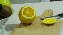 Preparing Fruit Salats Stock Footage