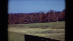 1947: hilly area is seen with trees and greenery MIDDLETOWN Stock Footage