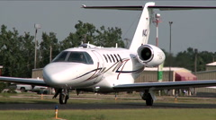 Cessna Citation CJ4 Taxi Stock Footage