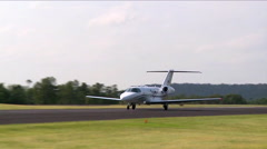 Cessna Citation CJ4 Take Off Stock Footage