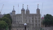 The Tower of London Stock Footage