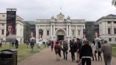 National Maritime Museum in Greenwich Stock Footage
