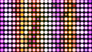 HD Loopable Background with nice pulsating LEDs Stock Footage
