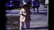 1949: toddlers is seen crawling MIDDLETOWN Stock Footage