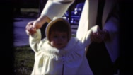 1949: mother with small child is seen MIDDLETOWN Stock Footage