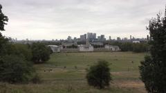 Greenwich Park in London Greenwich Stock Footage