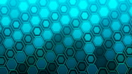HD Loopable Background with nice blue abstract Stock Footage