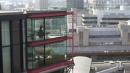 Modern and exclusive apartments in London Stock Footage