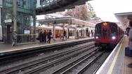 Earls Court Underground station Stock Footage