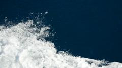 A cruise ship in Porto Venere, Italy. Stock Footage
