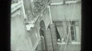 1949: tourist area is seen VENICE, ITALY Stock Footage