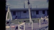 1951: residential area is seen FLORIDA Stock Footage