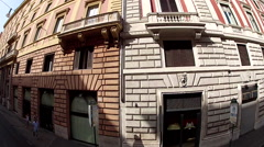 Traveling in Rome, Italy, Europe Stock Footage