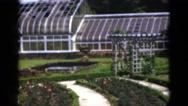 1951: garden is seen FLORIDA Stock Footage