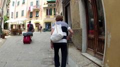 Monterosso al Mare in the Cinque Terre region of Liguria, Italy Stock Footage