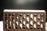 Closeup view of bricks Stock Photos