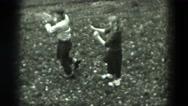1951: garden is seen GERMANY Stock Footage