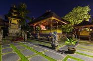 Temple in Ubud - Bali Island Indonesia Stock Photos
