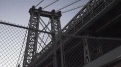 Williamsburg, Brooklyn, wide angle - summer 2016 Stock Footage