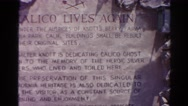 1966: an inscription is seen CALIFORNIA Stock Footage